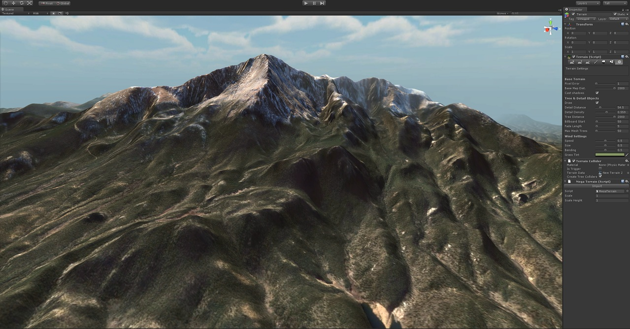 Terrain plugin and Unity « MegaFiers
