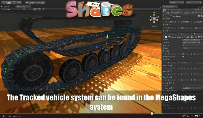 Tracked vehicle system