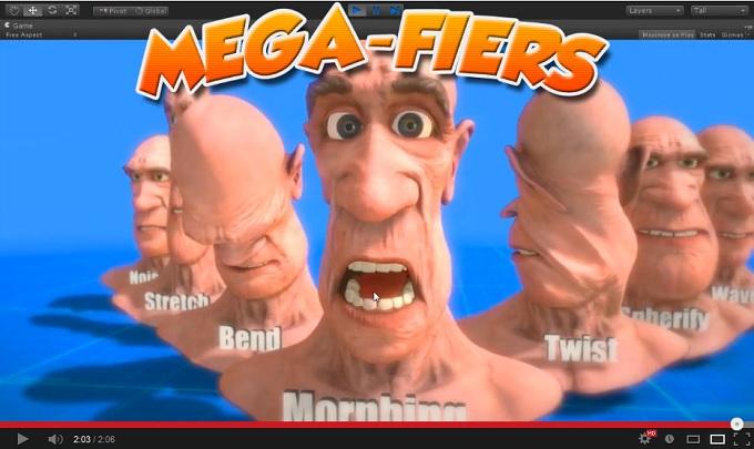 MegaFiers & ZBrush Blendshapes « MegaFiers