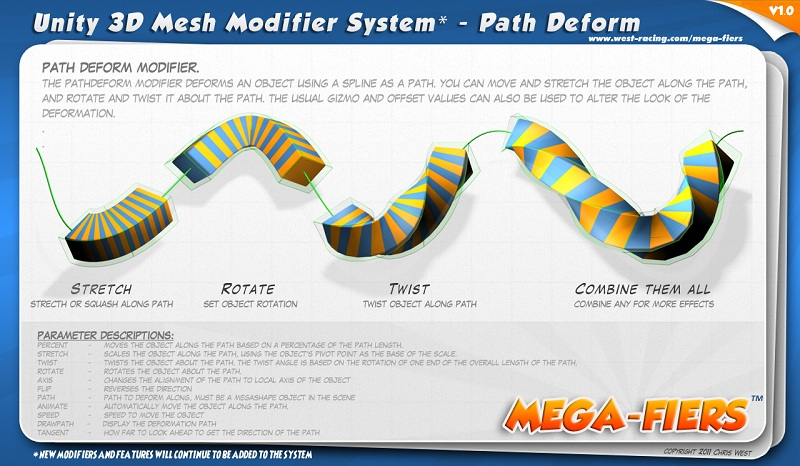 CGTalk | MegaFiers a Mesh Deformation system for Unity